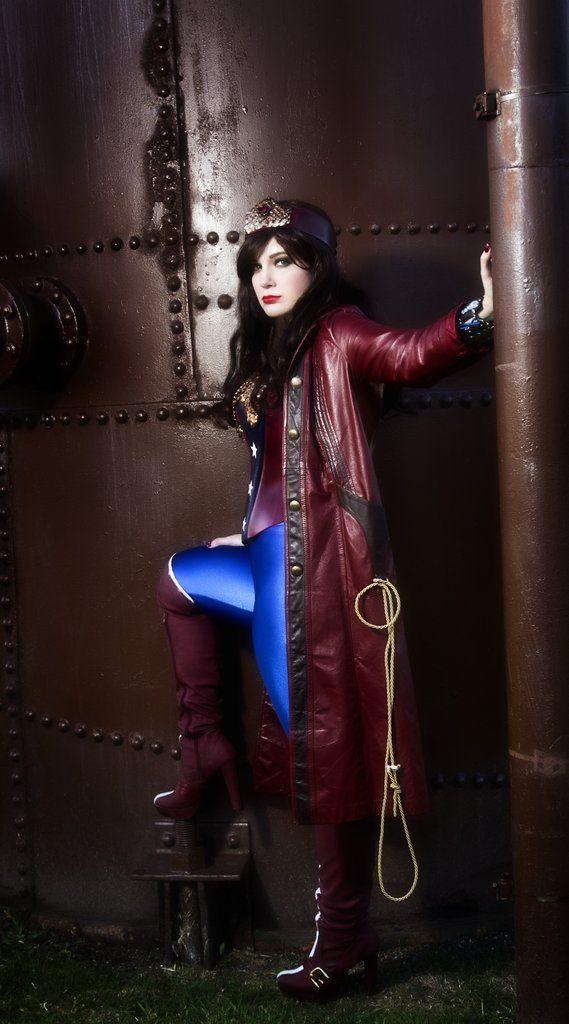 Steampunk Wonder Woman | Steampunk fashion women ...