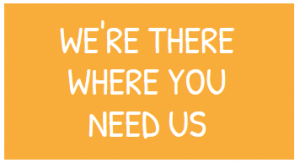 goca- we're there where you need us