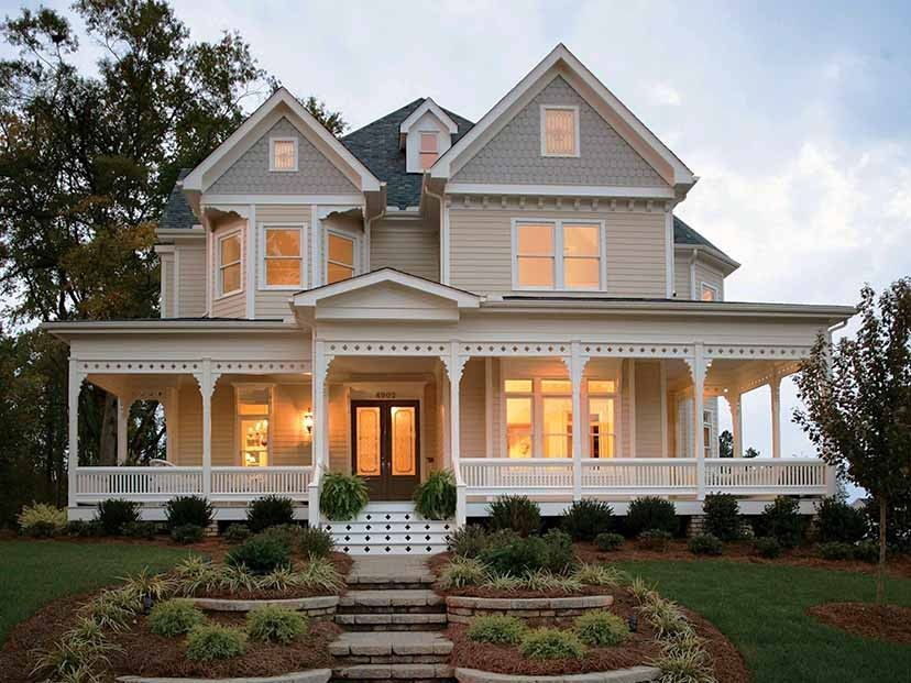 eplans country house plan - four bedroom country
