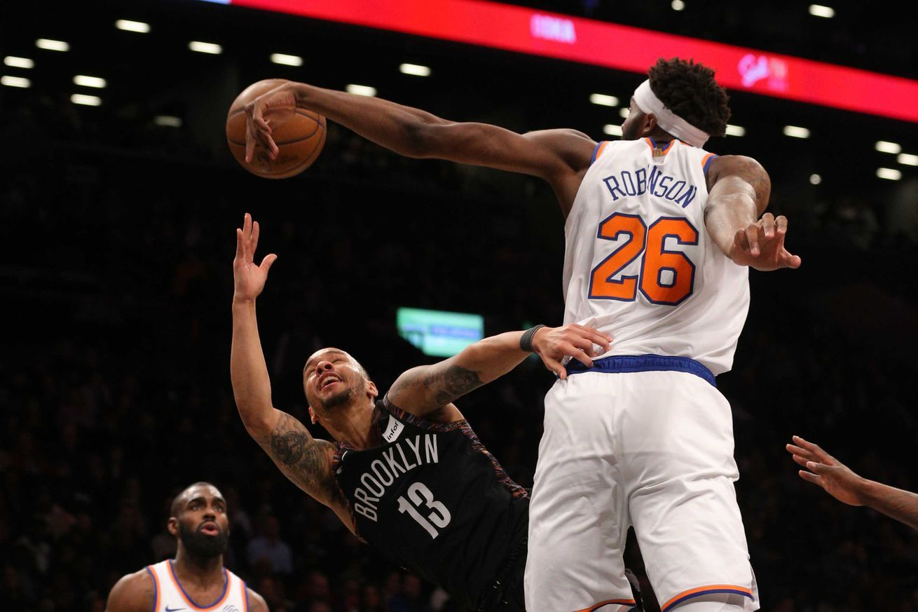 Mitchell Robinson Is The Blockness Monster Winning Knicks Fans Over Every Night All Sports Games And Sports Hd Streaming C Sports Sportsbook Sports Betting
