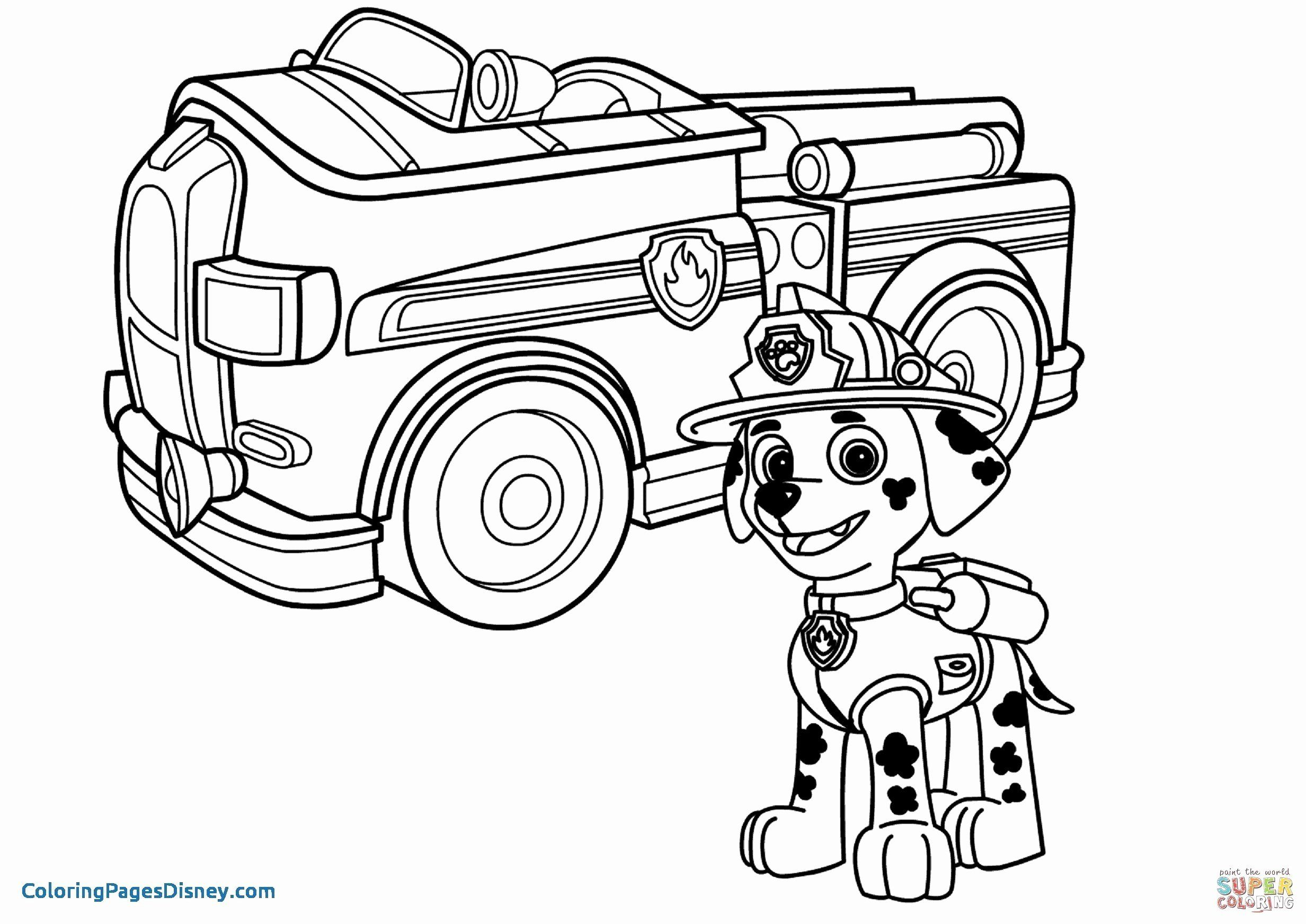 Fire Truck Coloring Pages Pdf Elegant Fire Truck Coloring Paw Patrol Coloring Paw Patrol Coloring Pages Monster Truck Coloring Pages