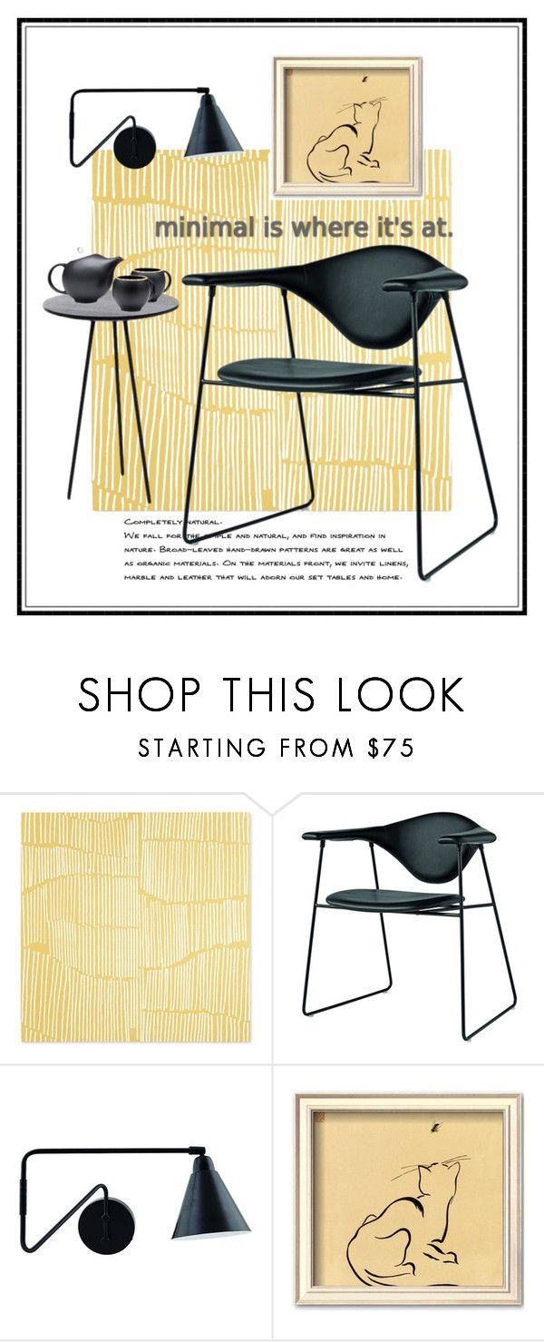 """minimal"" by kathy-martenson-sanko ❤ liked on Polyvore featuring interior, interiors, interior design, home, home decor, interior decorating and Gubi"