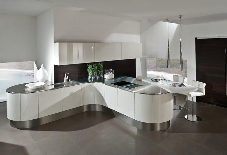 Modernes Kochen mit Haecker-Küchen von Höffner http://www.hoeffner ...