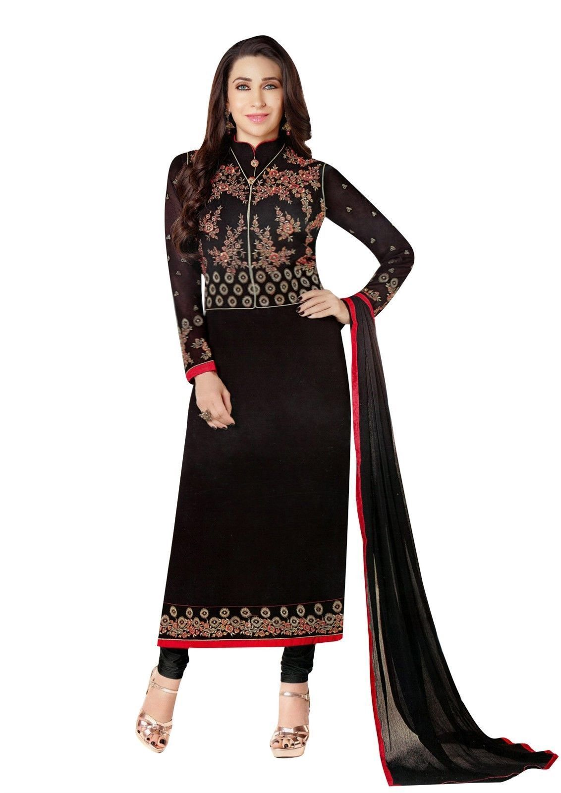 Readymade designer salwar kameez wedding partywear chiffon