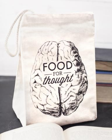 Food for Thought Lunch Bag - Cognitive Surplus - 1