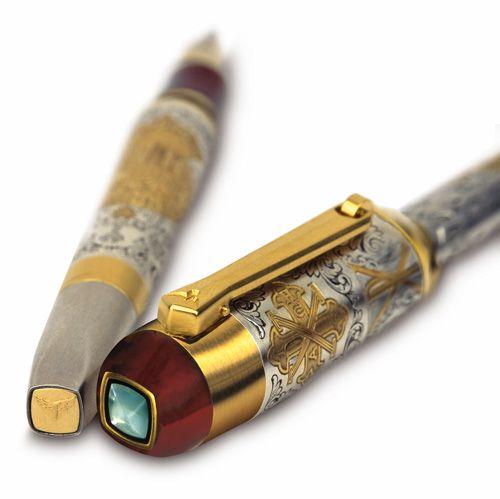 15 Most Expensive Pens Sold around the World | #1. Montegrappa Tibaldi  Fulgor Nocturnus