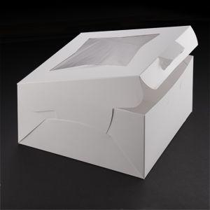 10 X 10 X 5 White Window Cake Bakery Box 150 Bundle Bakery Box Bakery Cakes Cake Boxes Packaging