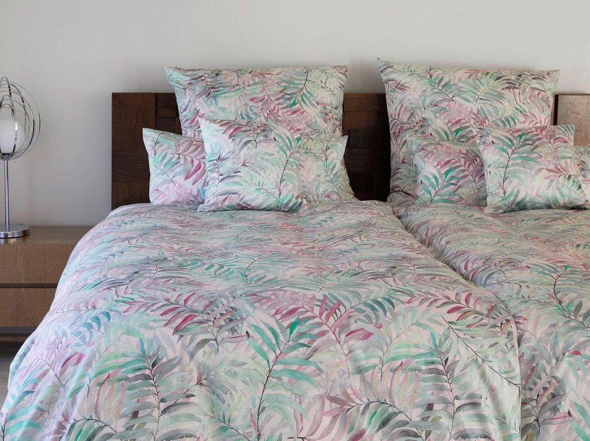 Bettwasche Palmleaves Angenehmes Hautgefuhlt Bettwasche