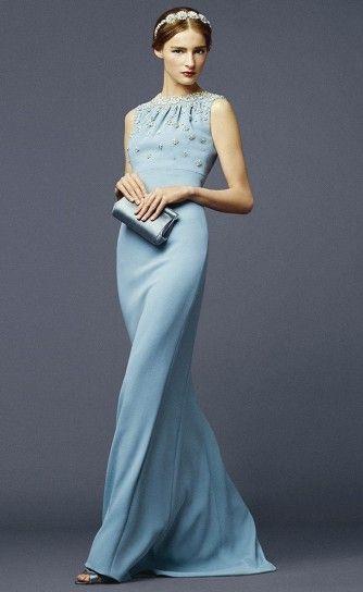 Abito lungo Dolce   Gabbana - Un modello di grande eleganza per la cerimonia 14a5f9829b3
