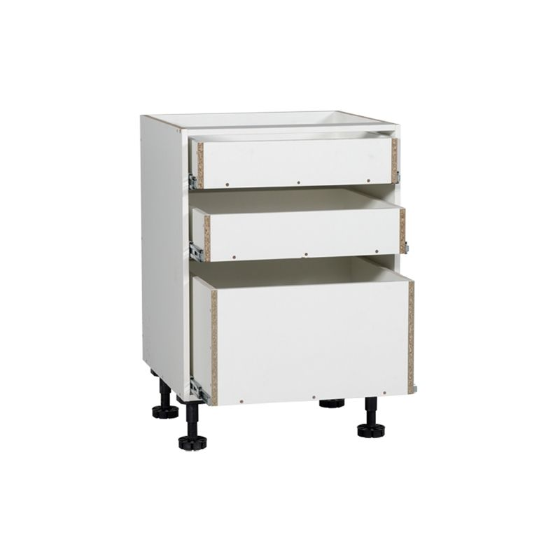 kaboodle 600mm 3 drawer base kitchen cabinet kitchen cabinets cabinet drawers on kaboodle kitchen bunnings drawers id=99630