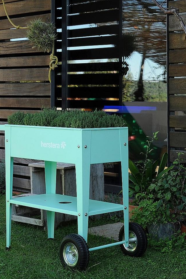 Herstera Garden Hochbeet Barcelona Liso Bxtxh 75x35x80 Cm Online Kaufen Gartenbau Pflanzideen Gardening