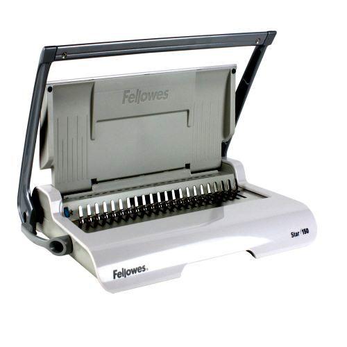 Fellowes Star 150 Manual Plastic Comb Binding Machine | Fellowes