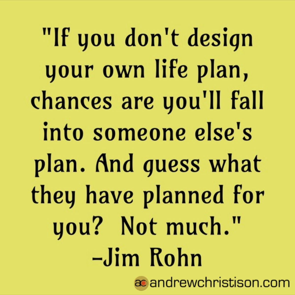 Plan Change Quotes Jim Rohn Quotes Life Plan