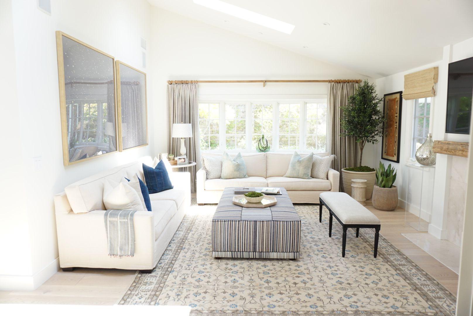 Kathryn Miller Interiors Corona Del Mar California Living Room