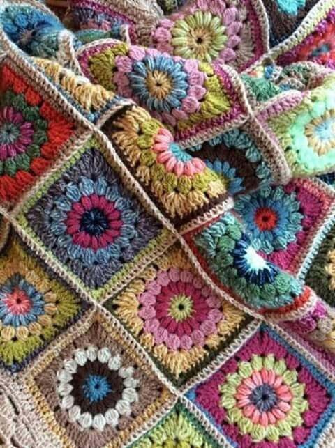 Pin de cachirula en knit8 - afghan,granny,motif,ripple   Pinterest ...