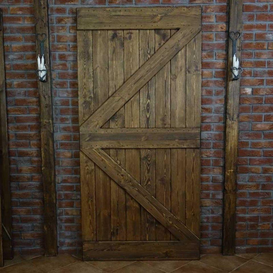 Wooden Door For Sliding Systems 2x Tredorer