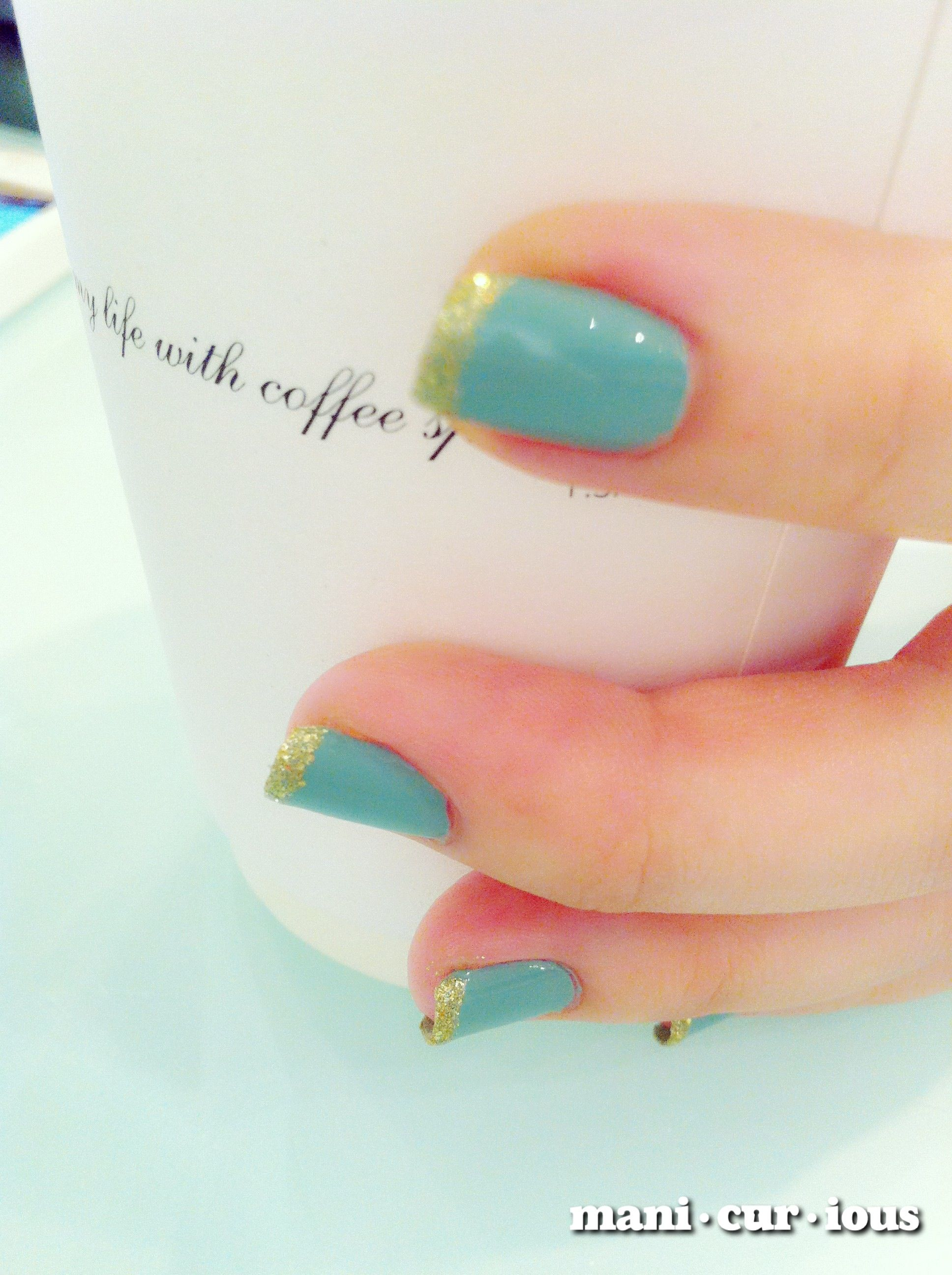 going a little crazy with french manicures!