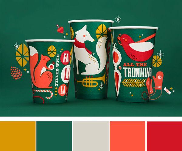 12doc holiday color palettes studio 404 graphic. Black Bedroom Furniture Sets. Home Design Ideas