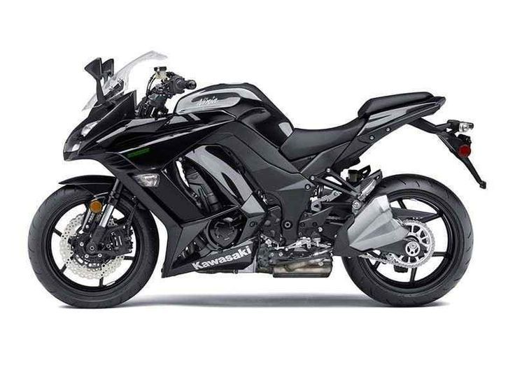 2016 Kawasaki Ninja 1000 ABS Metallic Carbon Grau