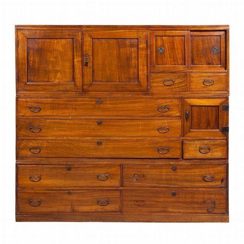 Japanese Paulounia Wood Tansu Lot 19 Ebay's live auction. Starting bid ...$1,500 USD