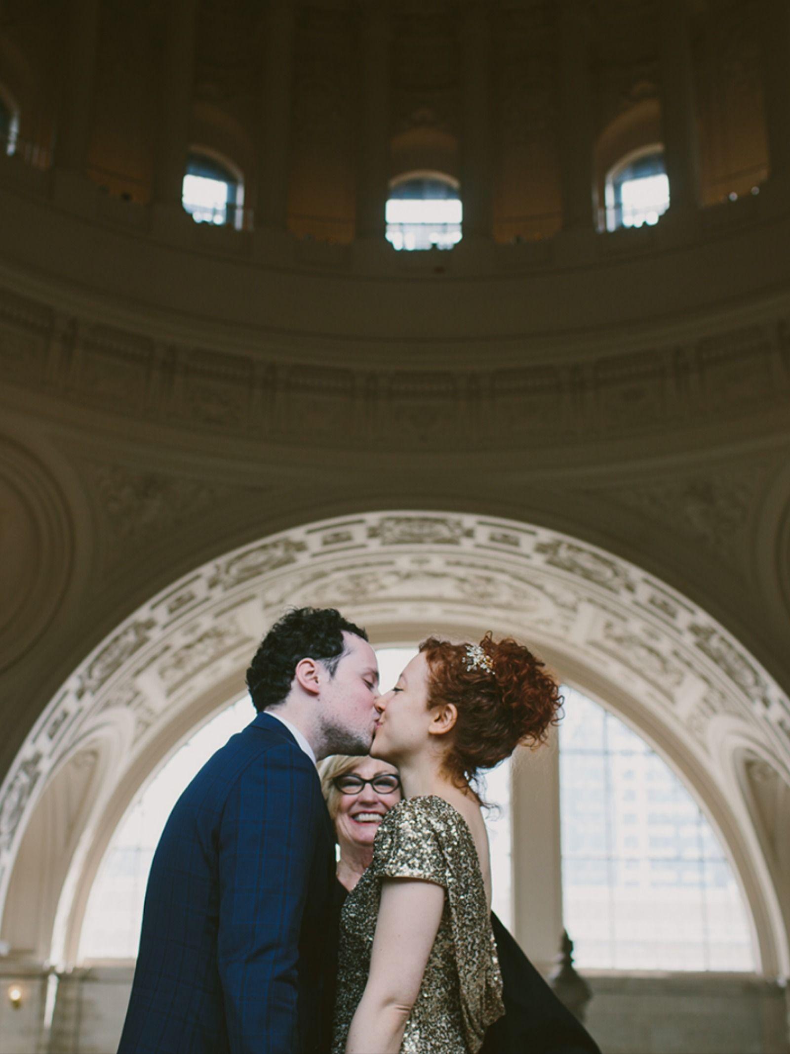 san francisco city hall wedding / oh happy dawn photo… in