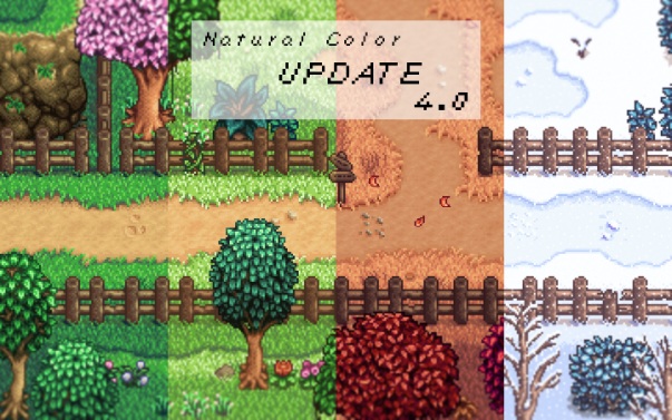 Natural Color Reshade By Illuzio Stardew Valley Farms Stardew Valley Farm Layout