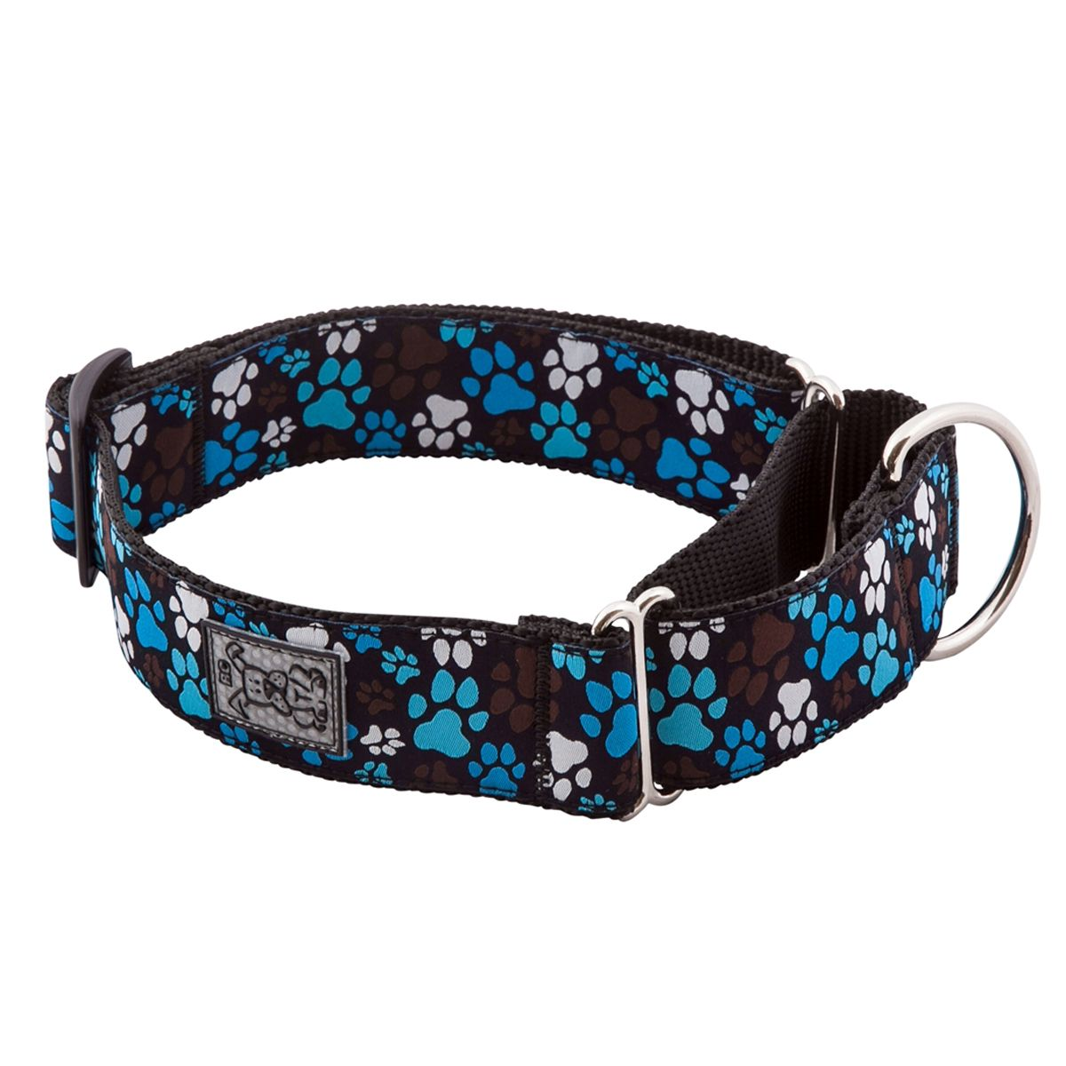 All Webbing Martingale Dog Training Collar Pitter Patter
