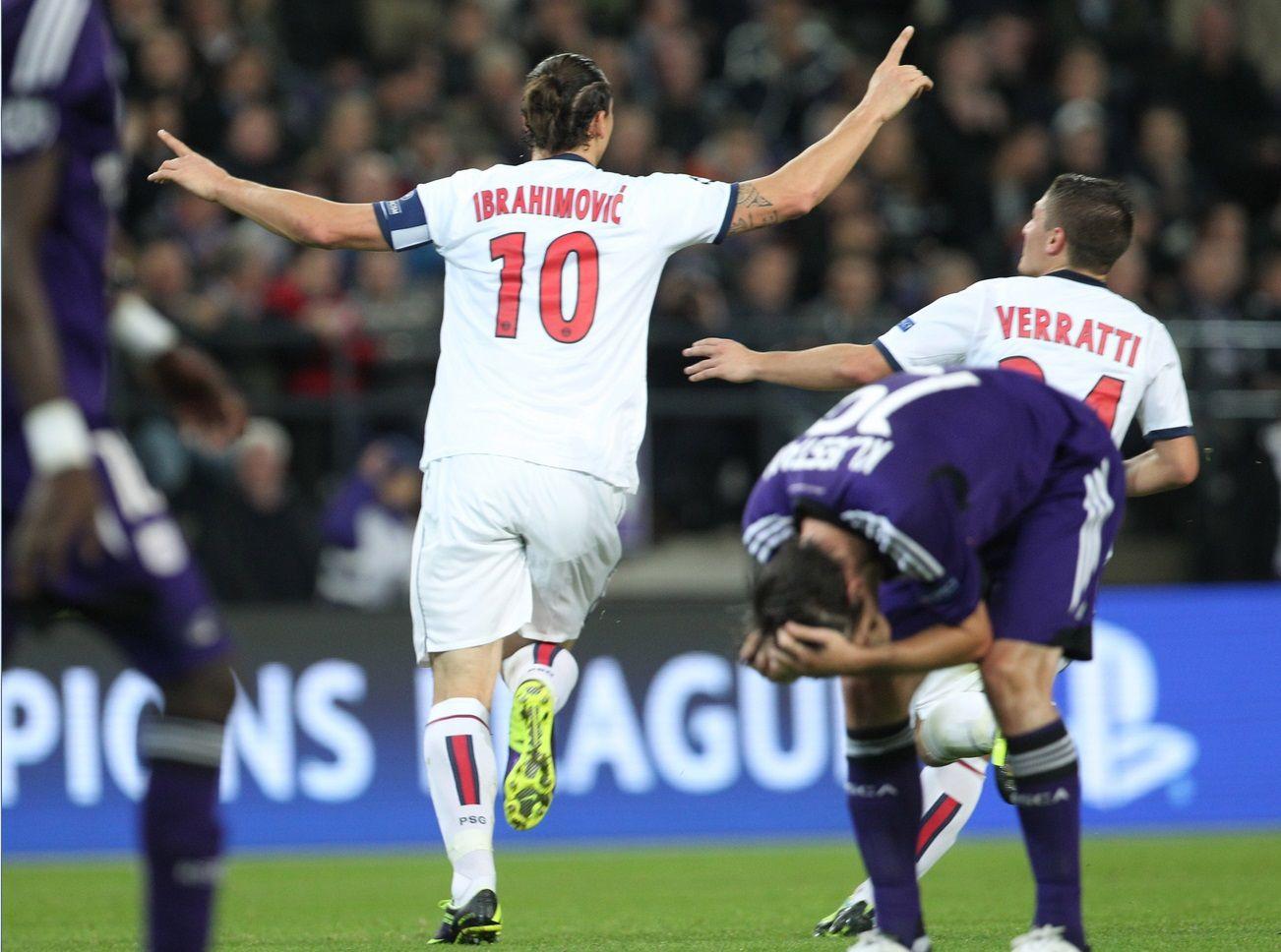 Anderlecht (BEL) 05 PSG (FRA). Champions, Juventus