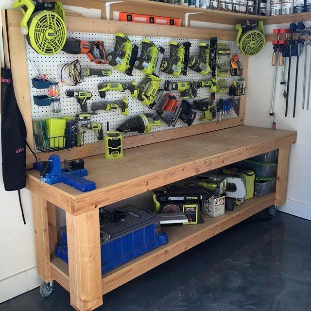 Garage Workbench Ideas 6 Workbenches Diy Workbench Diy Garage