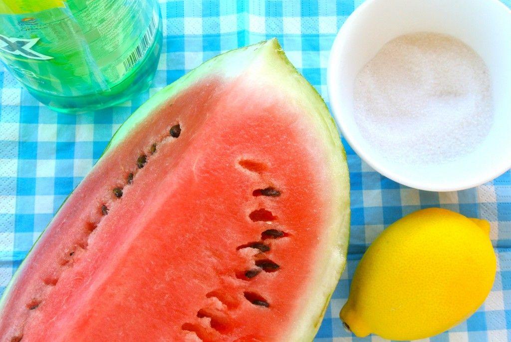 Fris en zomers watermeloen drankje Lekker en Simpel