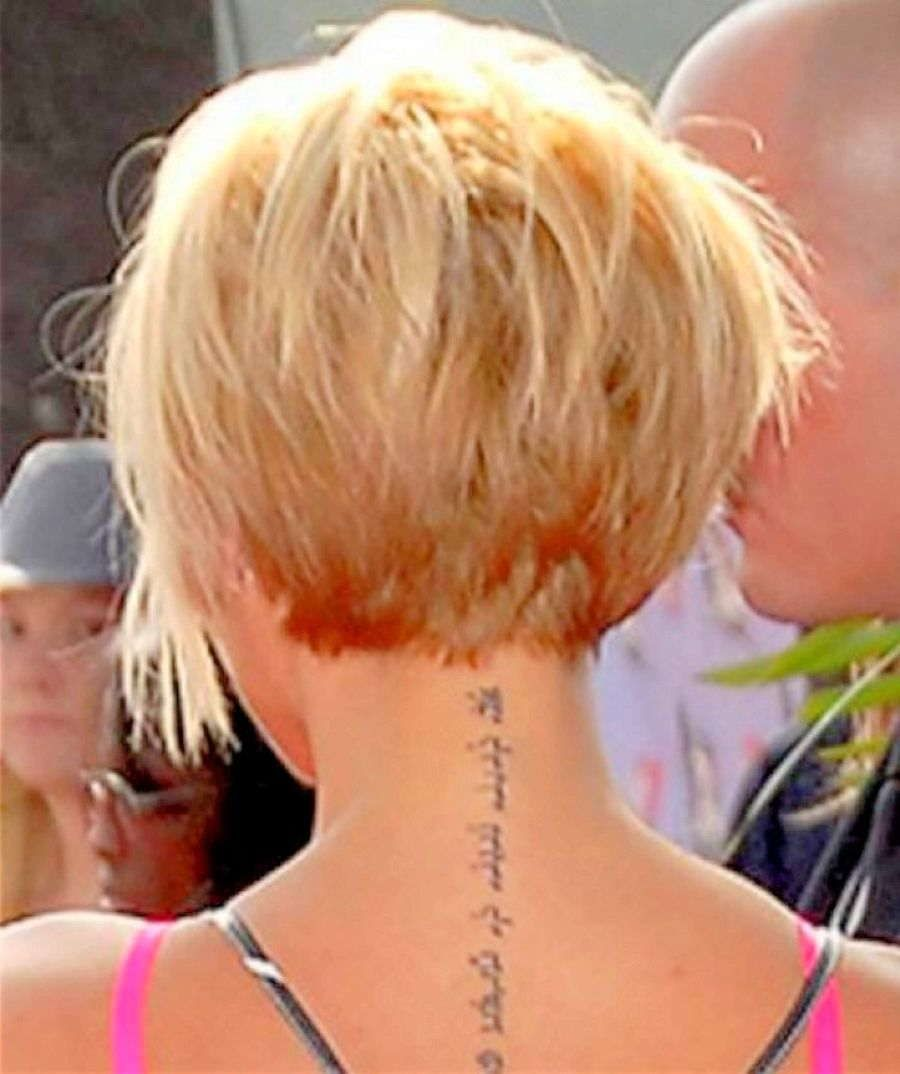 Fantastic Back View Of Pixie Haircut Back View Of Short Hairstyles Hairstyles For Women Draintrainus