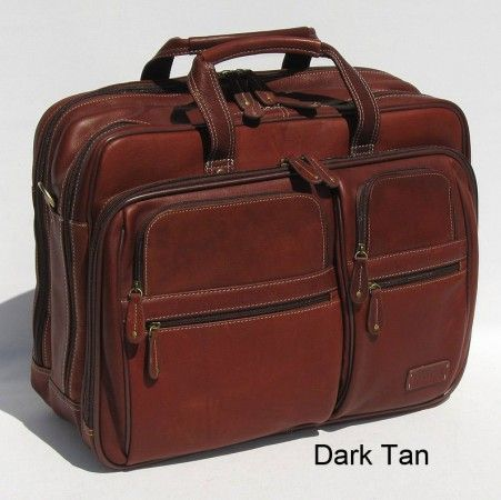 c8522a9b3175 Vaquetta Leather Overnight Bag for Laptop
