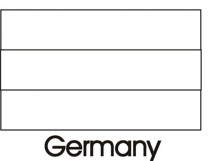 Germany Flag Coloring Pages For Brazil World Cup 2014 | 4th Grade ...