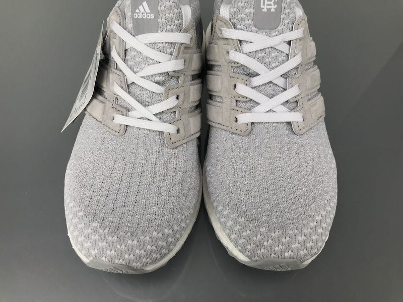 "c10f9b850053 Reigning Champ x Adidas Ultra Boost 3.0 ""White Grey"" Real Boost BW1122 for  Sale7"