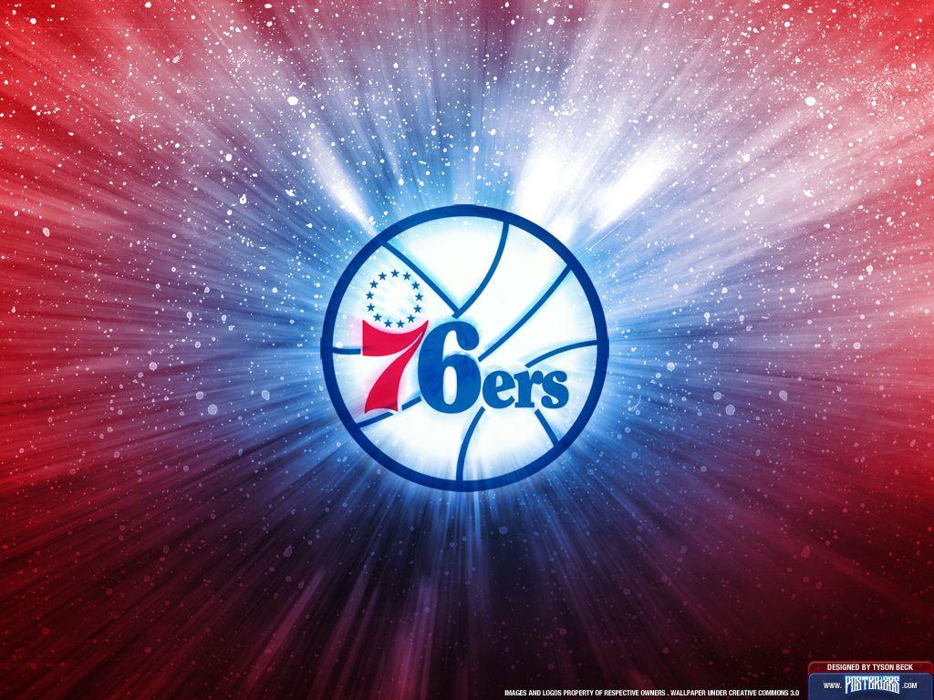 Philadelphia 76ers Logo Wallpaper Philadelphia 76ers 76ers Nba Wallpapers