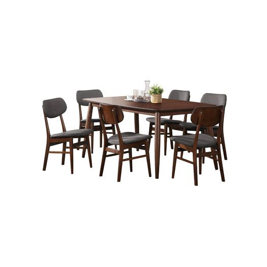Woodbridge Home Designs Lev 7 Piece Dining Set | Dining Room ... on wildon home dining sets, hokku designs dining sets, sunny designs dining sets, woodbridge home designs bookcase, tommy bahama home dining sets,