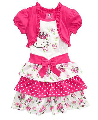 e40dfd24e1c0 Hello Kitty Kids Dress