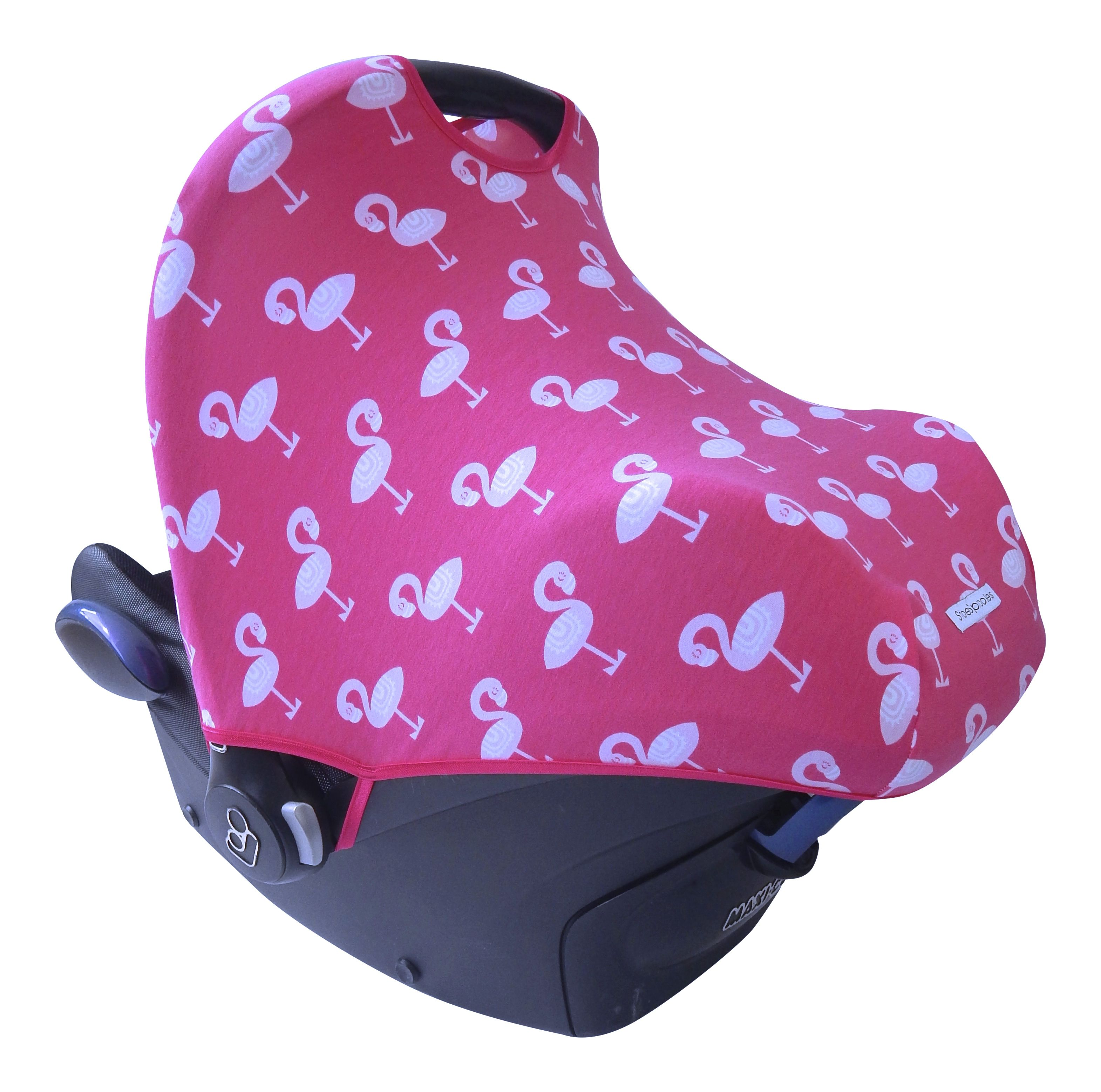 Maxi Cosi zonnekap Flamingo Fuchsia car seat cover sun hood canopy boat pink