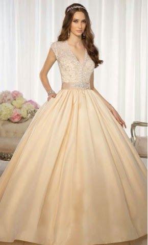 vestidos largos color crudo - buscar con google | dress | pinterest