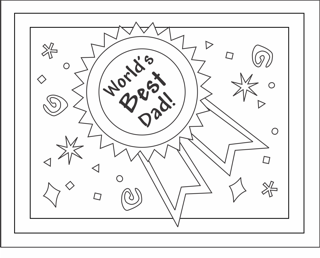 Free Printable Fathers Day Cards Coloring Cards For Kids Father S Day Card Template Father S Day Printable Free Fathers Day Cards