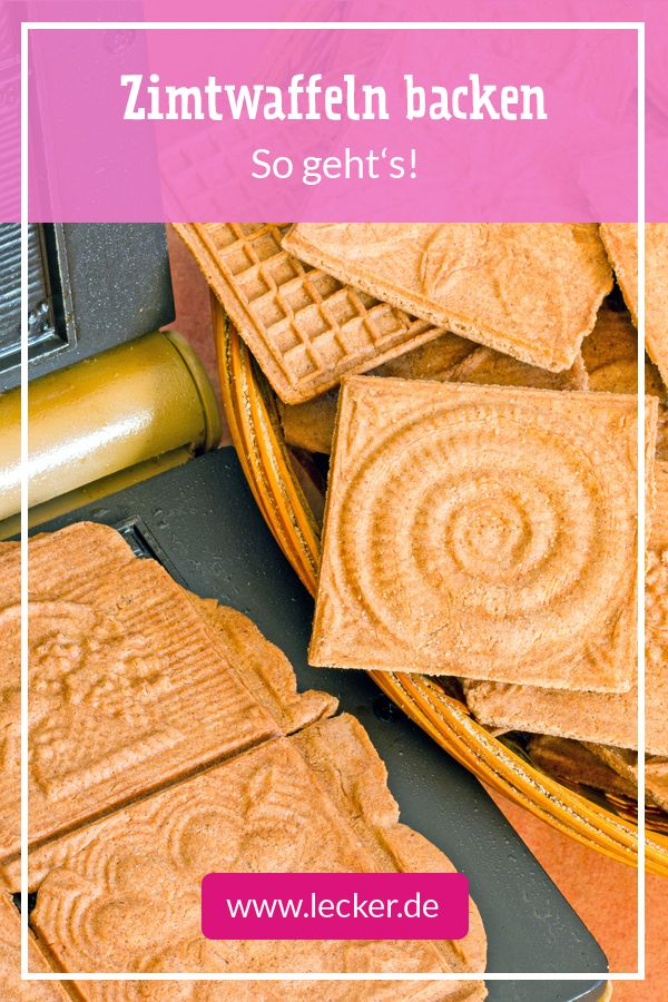 Cinnamon wafers – this is how the traditional biscuits succeed | DELICIOUS