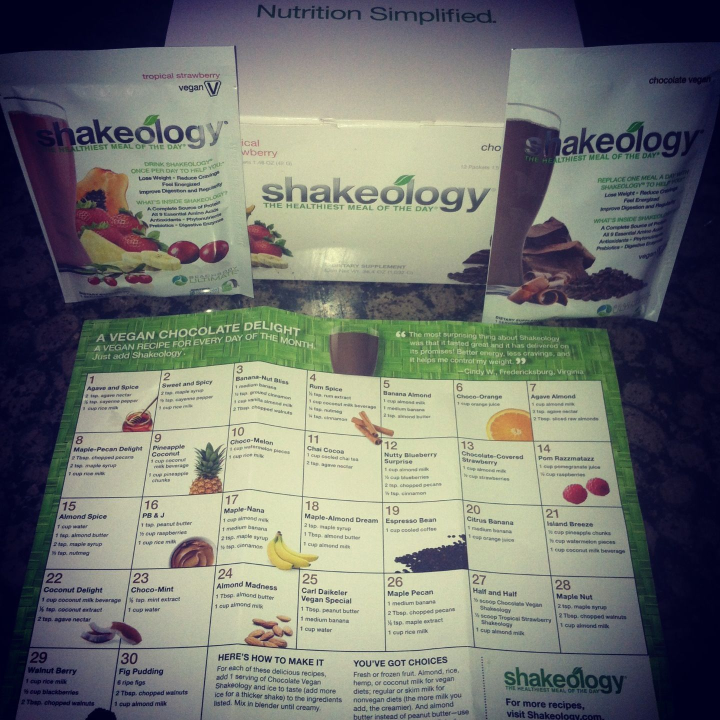 Shakeology samples are in!! Try out the healthiest meal of the day or get your hands on the amazing 3 day cleanse!!  Shoot me a msg at Www.facebook.com/mybodyambassador  for all the details!!