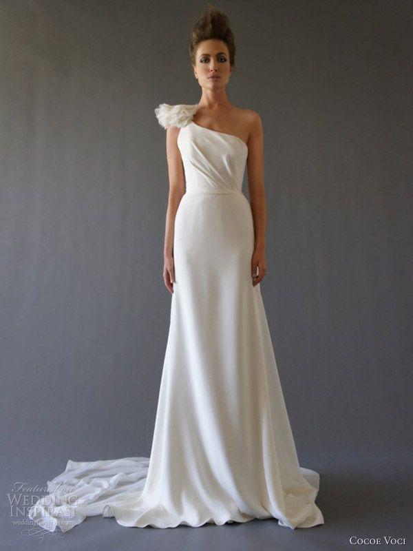 Wedding Dresses | Wedding, The shape and One shoulder
