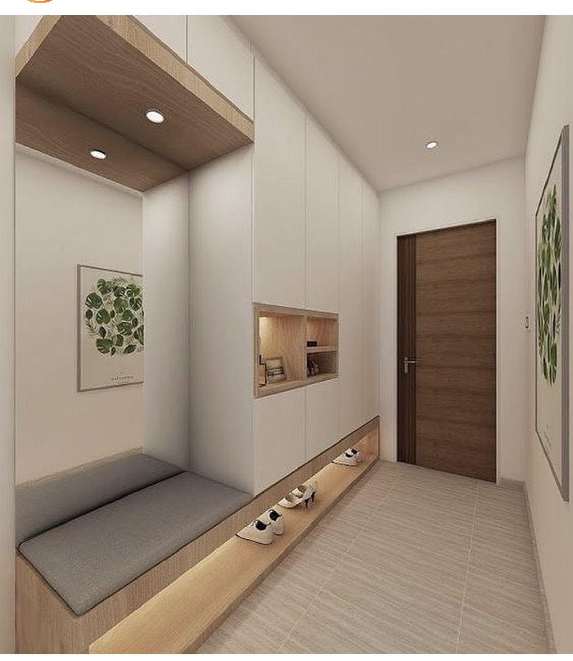 Pin By Hsin On Dizajn Kvartiry Apartment Decorating Rental Home Interior Design Hallway Designs
