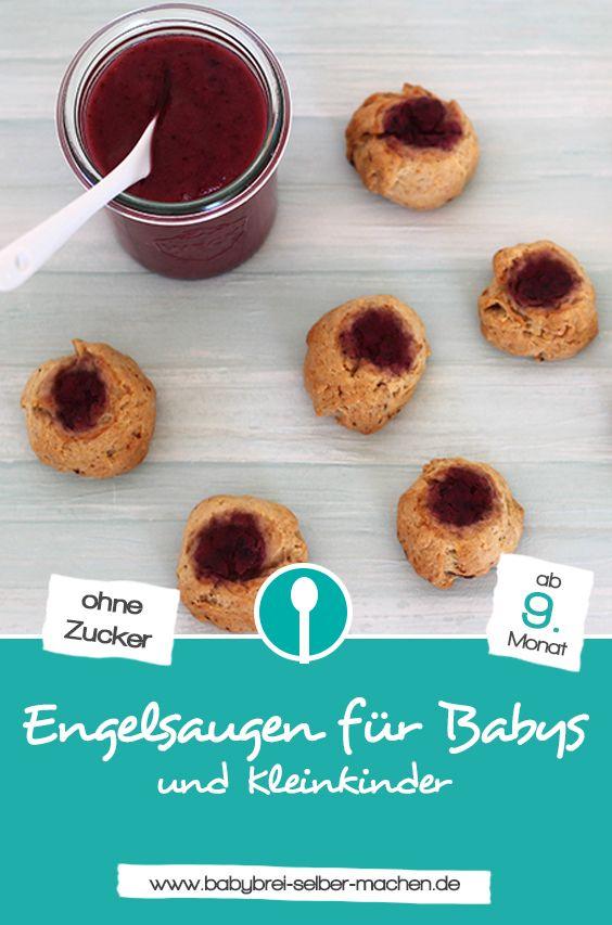 Weihnachtskekse Klassiker.Engelsaugen Plätzchen Für Babys Ohne Zucker Zuckerfreie Rezepte