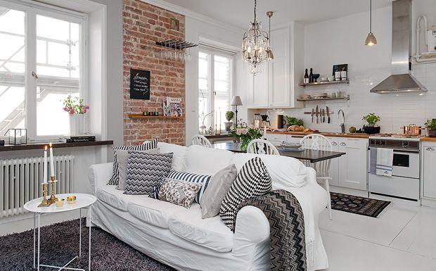 Une déco en brique et blanc | ideas ideas ideas - decorating ...