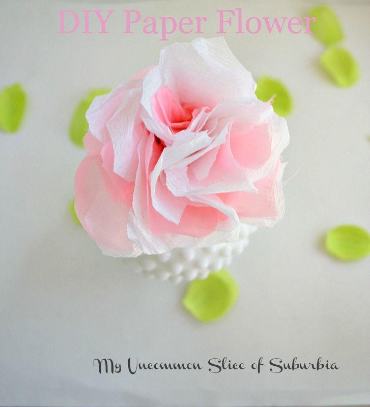Simple Diy Paper Flowers Paper Flowers Diy Paper Flower