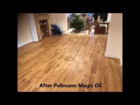 Art of Clean Restoration of oak floor in Cambridge
