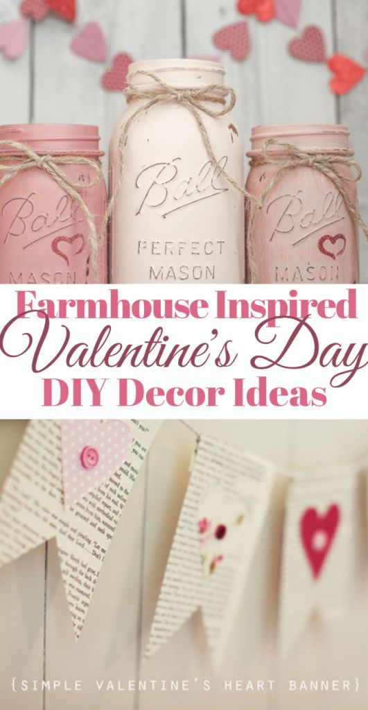 DIY Valentine's Day Farmhouse Decor Ideas - Back Road Bloom
