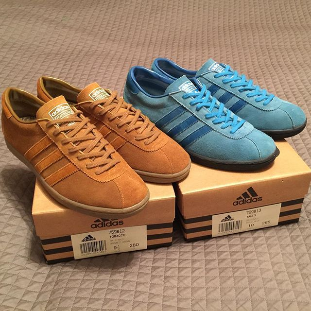 Adidas Tobacco and Tahiti made in Japan  rare birds